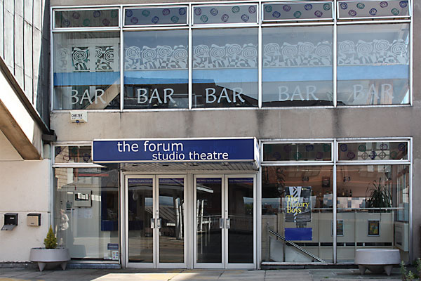 Exterior of The Forum Studio Theatre in Chester city centre