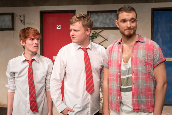 Young cast in Chester play