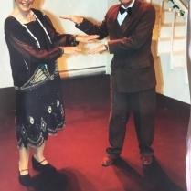 Jenny Jackson as Fraulein Schneider and John Lindop as Herr Schultz