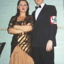 Simon Phillips as Ernst Ludwig (baddie) with Jo lloyd