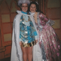 Lydia Griffiths as Dick Whittington and Stephanie (Stevie) Bauer as Alice Fitzwarren.