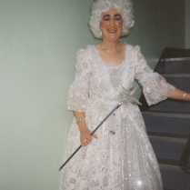 Gill Bowen who sang the opening number in Tip Top's first ever show in 1989 as Fairy Bowbells.