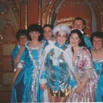 Some of the senior chorus.
