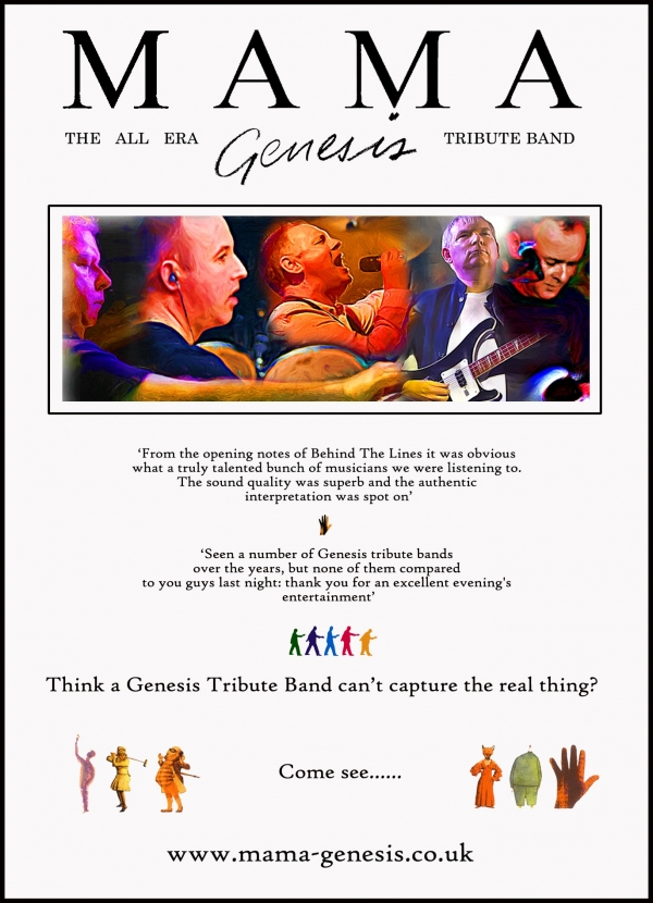 Mama The Genesis Tribute Band