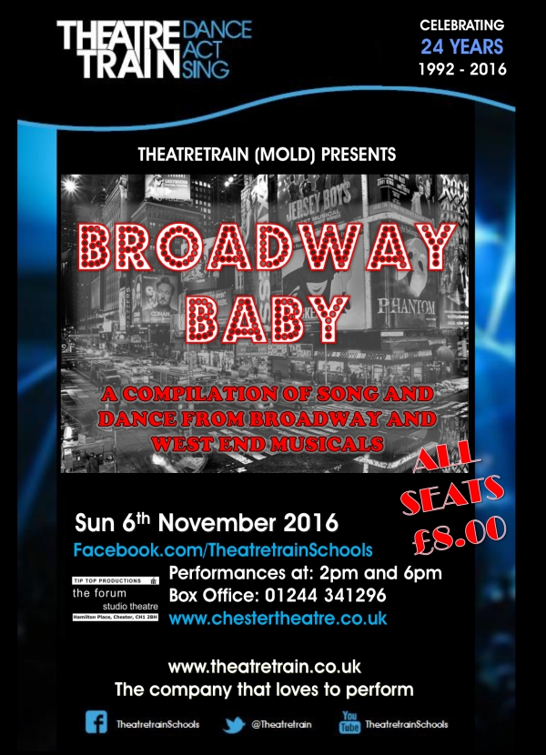 Theatretrain - Broadway Baby