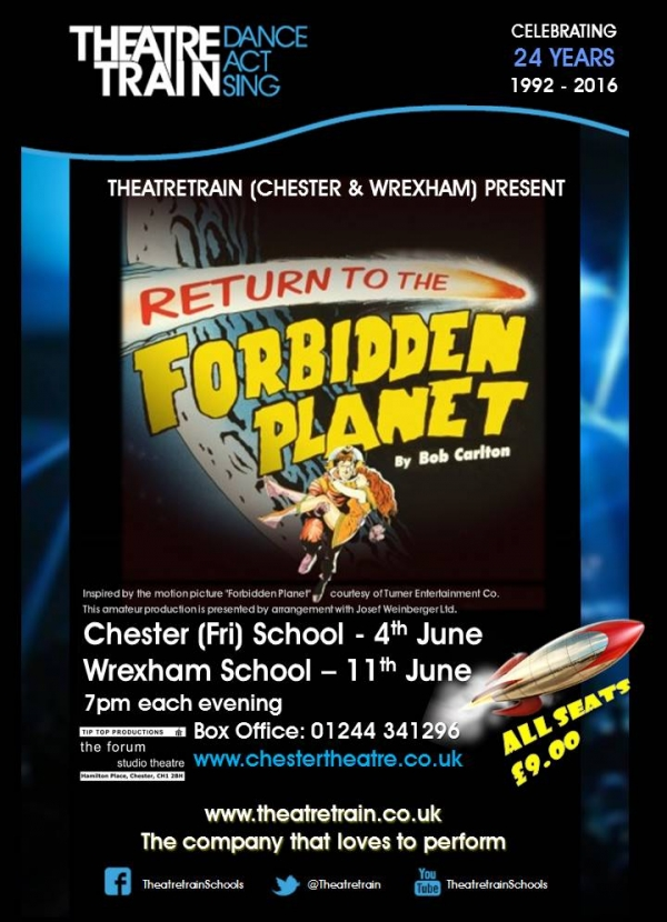 Theatretrain - Return to the Forbidden Planet