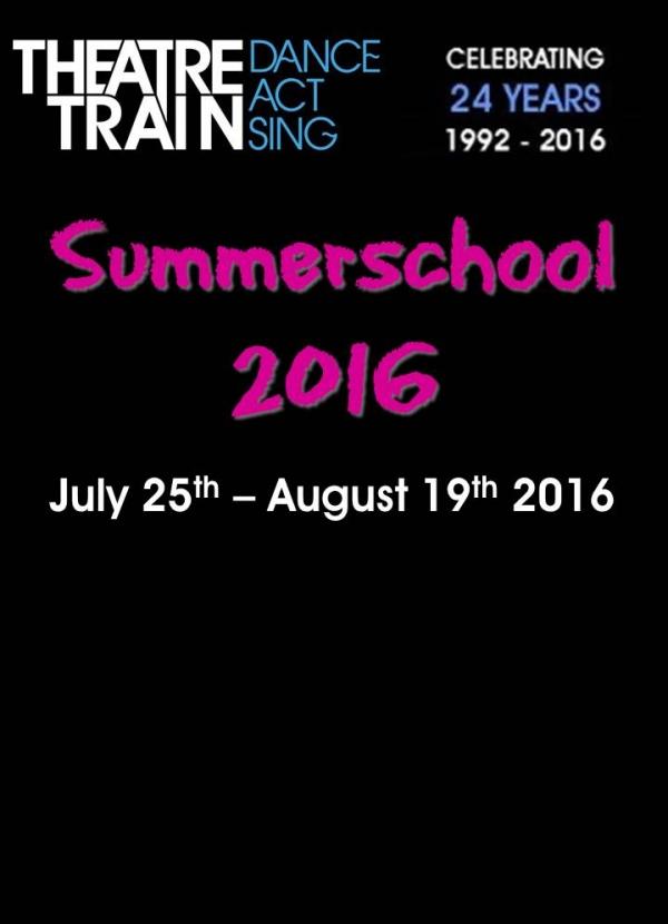 Theatretrain Summerschools 2016